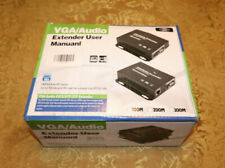 VGA Extender Repeater Up to 300M 1000ft over UTP LAN RJ45 CAT5e CAT6 with Audio