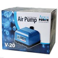 AQUAFORTE AIR PUMP V20 - Luftpumpe Sauerstoffpume Membranpumpe Teich Aquarium