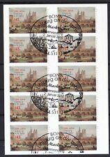 BRD 2010 Folienblatt 6 mit MiNr. 2778 ESST Bonn 1100 Jahre Limburg an der Lahn