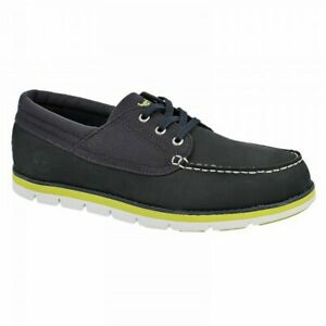 TIMBERLAND Mens Shoes Navy Size UK 7 Earthkeeper Harborside Oxford Suede 6302A