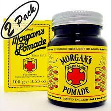 MORGAN'S POMADE Gray Grey Hair Cream Pomada Crema Cabello Pelo gris Canas 2-PACK