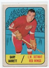 1X BART CRASHLEY 1967 68 Topps #105 RC Rookie VGEX DETROIT RED WINGS