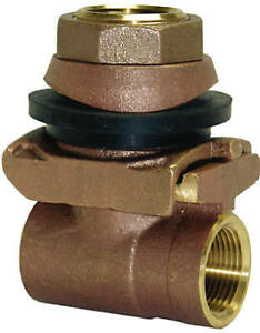 PA100NL Pitless Adapter, Brass, 1-In. - Quantity 1