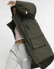 Nike Tech Pack Down Fill Parka Coat XL Khaki 939493-355 Loose Fitting