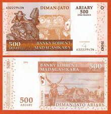 P88b  Madagaskar / Madagascar  500 Ariary  2004  UNC
