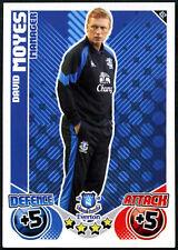 David Moyes #452 Topps Match Attax 2010-11 Football Card (C602)