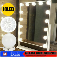 Hollywood LED Makeup Vanity Mirror Lights Kit With Dimmable 10 Light Bulbs Hot