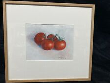 Watercolor MW Brown Tomatoes Well Painted Good Colors