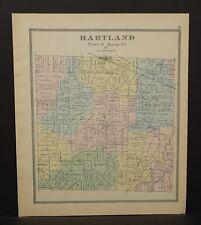 Ohio Huron County Hartland Township 1891  !Y14#82