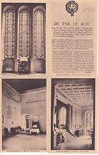Lot de 4 cartes postales anciennes MUSEE DU DESERT PROTESTANT CALVIN 2