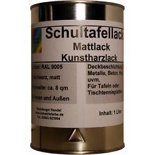 Schultafellack, Mattlack, Schmiedelack, Tafel Lack, Schwarz, 1 Liter