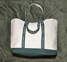 LEHMAN BROS ~ BOGO SALE ~ BOAT TOTE CANVAS BAG + FREE BLACK DUFFEL BAG