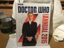 DOCTOR WHO THE OFFICIAL ANNUAL 2015 - BBC