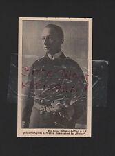 1915, effigie fotografia posizionamenti V. Müller comandante della Emden