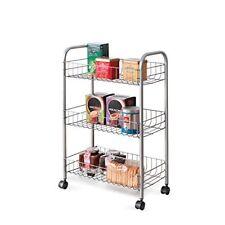 Metaltex Carrello 3 piani Lugano oggetti per la Spesa-supermercati