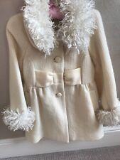 Girls Designer Coat Age 4
