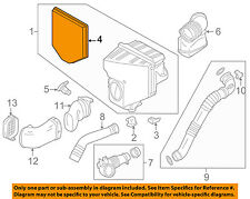 BMW OEM 11-16 X3 Engine-Air Cleaner Filter Element 13717601868