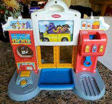 Bundle Lot 1999 Playskool McDonalds Drive Thru Playset W/ Extras