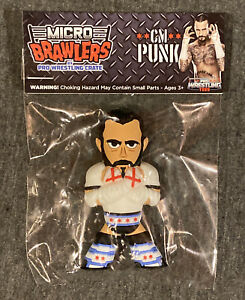 CM Punk Micro Brawlers Pro Wrestling Crate Exclusive WWE TNA AEW ROH