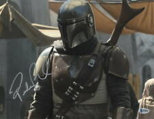 PEDRO PASCAL SIGNED 11X14 PHOTO THE MANDALORIAN STAR WARS AUTOGRAPH BECKETT