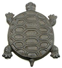 New Set of 3 Adorable TURTLE Cast Iron Stepping Stone Garden Yard Art Decor
