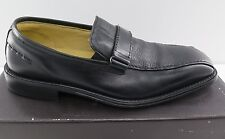 New Mens Brass Boot Trevi Slip On Black Leather - 8.5 Medium