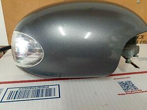 2003-09 VOLKSWAGEN BEETLE PASSENGER RH Side Power Mirror Flint Gray Metallic