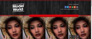 Model Management / eCommerce Store / Affiliate Earning  website + Free Hosting