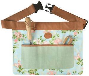 Esschert's Garden Womens Floral Rose Design Gardening Tool Belt/Apron