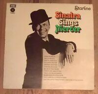 Frank Sinatra – Sinatra Sings Mercer Vinyl LP Comp Reissue Stereo 33rpm 1973