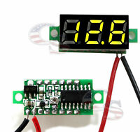 Mini Green DC 0-30V LED Display Digital Voltage Voltmeter Panel For Arduino