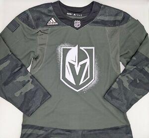 adidas NHL Vegas Golden Knights Salute to Service Camo Hockey Jersey Size 42 XXS