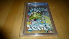 """SILVER SURFER """"THE COMING OF GALACTUS"""" #NN CGC 9.8 (11/92) Fantastic Four WHITE"""