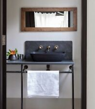 BASALT HONED  FREE STANDING  SINK VANITY