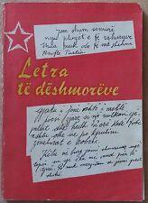 Letra te deshmoreve te Luftes Nacionalclirimtare - 1979. Book from Albania.