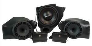 MB QUART Kick Panel Speakers+Subwoofer+Amps For Select Polaris RZR Ride Command