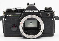 Olympus OM-2 OM 2 Spot / Program Gehäuse Body analoge Spiegelreflexkamera black