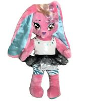 "Build A Bear 20"" Honey Girl Plush HG Risa Pink Ballerina Bunny Rabbit In Tutu"