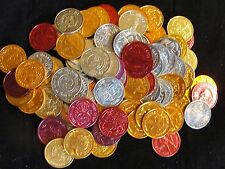 APPROXIMATELY 100 MARDI GRAS TOKENS - SOME DUPLICATES - NICE FIND - P749