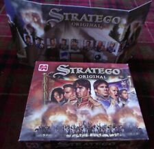 SUPERB JUMBO ORIGINAL STRATEGO ATTACK AND CAPTURE THE FLAG UNPLAYED CONTENTS MIB