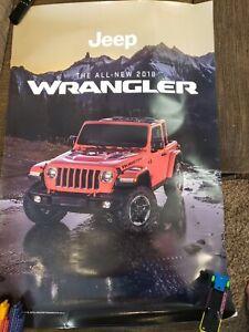 new 2018 jeep wrangler poster-dealership