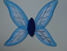 ~* X SMALL BLUE FAIRY WINGS~TINKERBELL ANGEL DRESS UP
