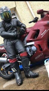 Motorcycle Leathers Bundle armoured Akito Appolo Plus UK 42 & Stein 32