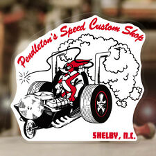 "Pendletons vitesse custom shop sticker autocollant old school hot rod 4"""
