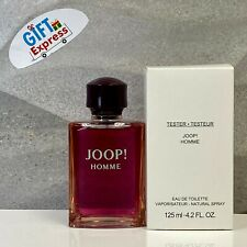JOOP By Joop! Cologne Perfume For Men 4.2 oz Eau De Toilette Spray(T) NEW
