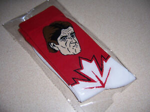 2016 Team Canada World Cup Mike Babcock Socks - Coors Light Beer