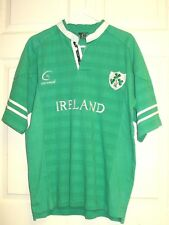 Live For Rugby LFR Ireland Green Short Sleeve Jersey Shirt Men's Size M
