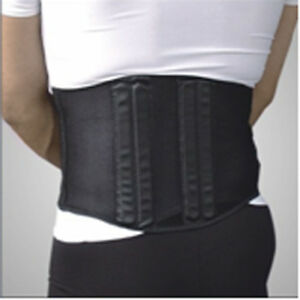 Back / waist / lumbar support for static activities. Back pain relief