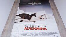 madonna IN BED WHIT MADONNA  ! affiche cinema