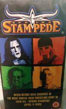 WCW Spring Stampede 1999 ORIG VHS WWE Wrestling
